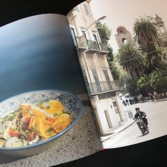 Foto van salade en Palermo