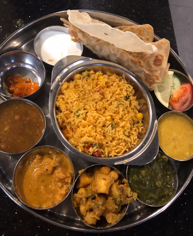 Indiase rijsttafel