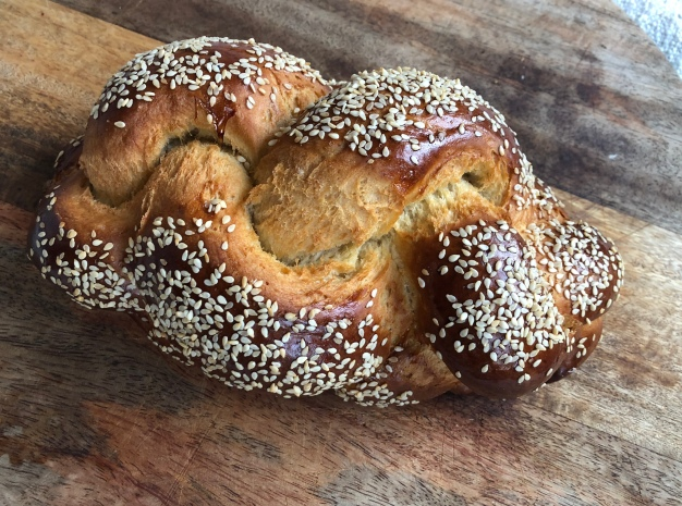 Foto van Challah brood