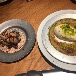 Foto van desserts