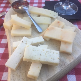 Foto van een kaasplank