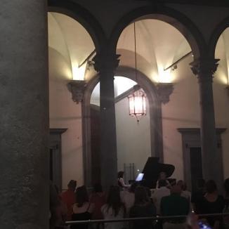 Foto van concert in Palazzo Strozzi