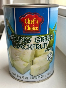 Foto van blik Jackfruit